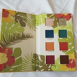 Alamar cosmetics Reina de Caribe palette